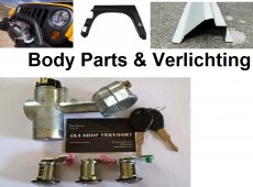Body parts & Verlichting Vitara